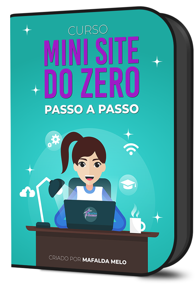 mini site do zero passo a passo